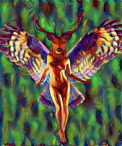 John Robinson - Deer Lady